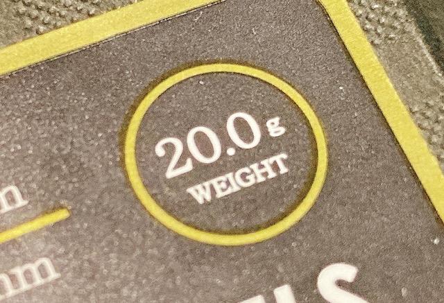 重いダーツバレルの重さ
