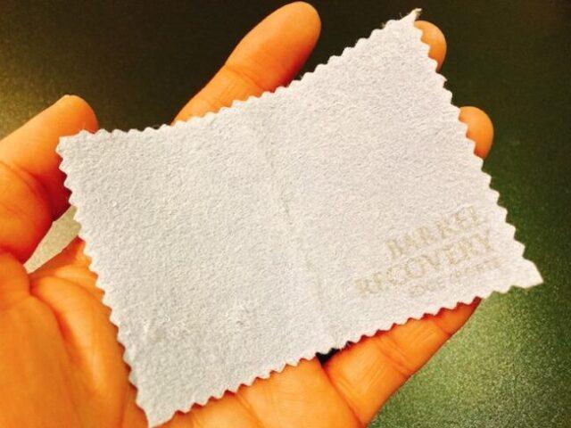 ダーツバレル洗浄①:半透明の手垢の汚れのお手軽お手入れメンテナンスグッズ