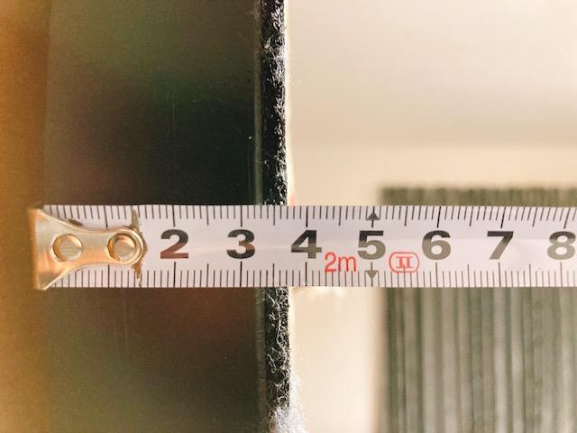 【ダーツボード トリニダード】のサイズと重さは?