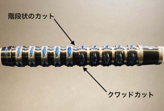 【ハローズ パラゴン】の形状・カット・デザイン・重心・重さ・長さ・スペック