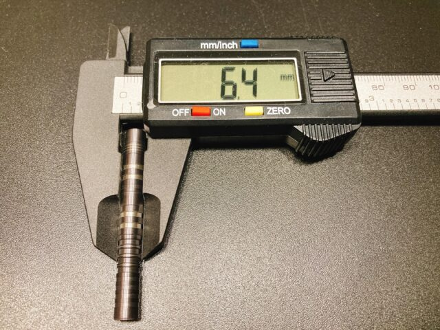 【ターゲット シリウス】の形状・カット・デザイン・重心・重さ・長さ・スペック