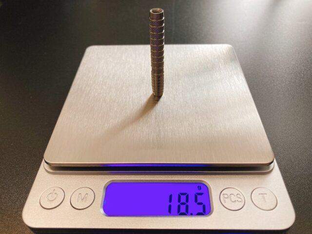 【トリニダード エデル】の形状・カット・デザイン・重心・重さ・長さ・スペック