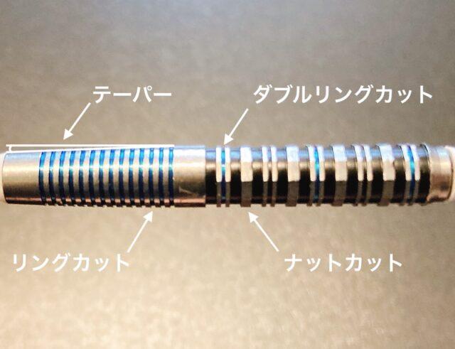 【ダイナスティー デカゴン】の形状・カット・デザイン・重心・重さ・長さ・スペック