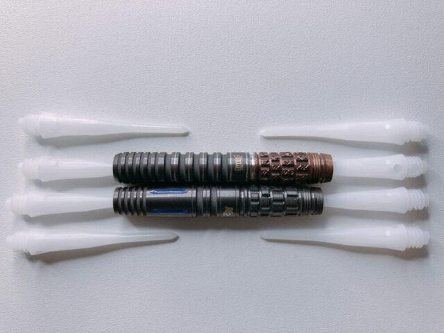 ターゲット「ソロG4」と「ソロG4 K2」の芯・空洞比較